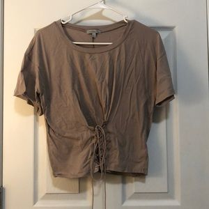 Corset detail t-shirt
